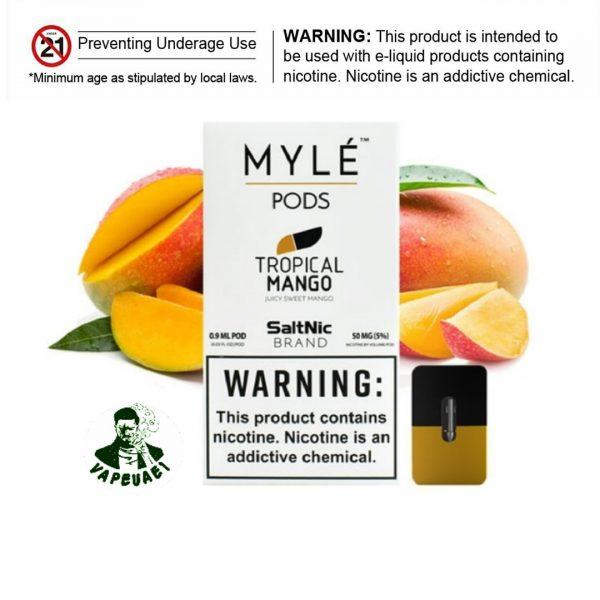Myle Pod Tropical MangoMyle Pod Tropical Mango