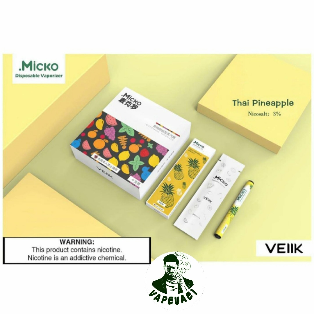 Micko Disposable Vaporizer By Veiik-Thai Pinapple