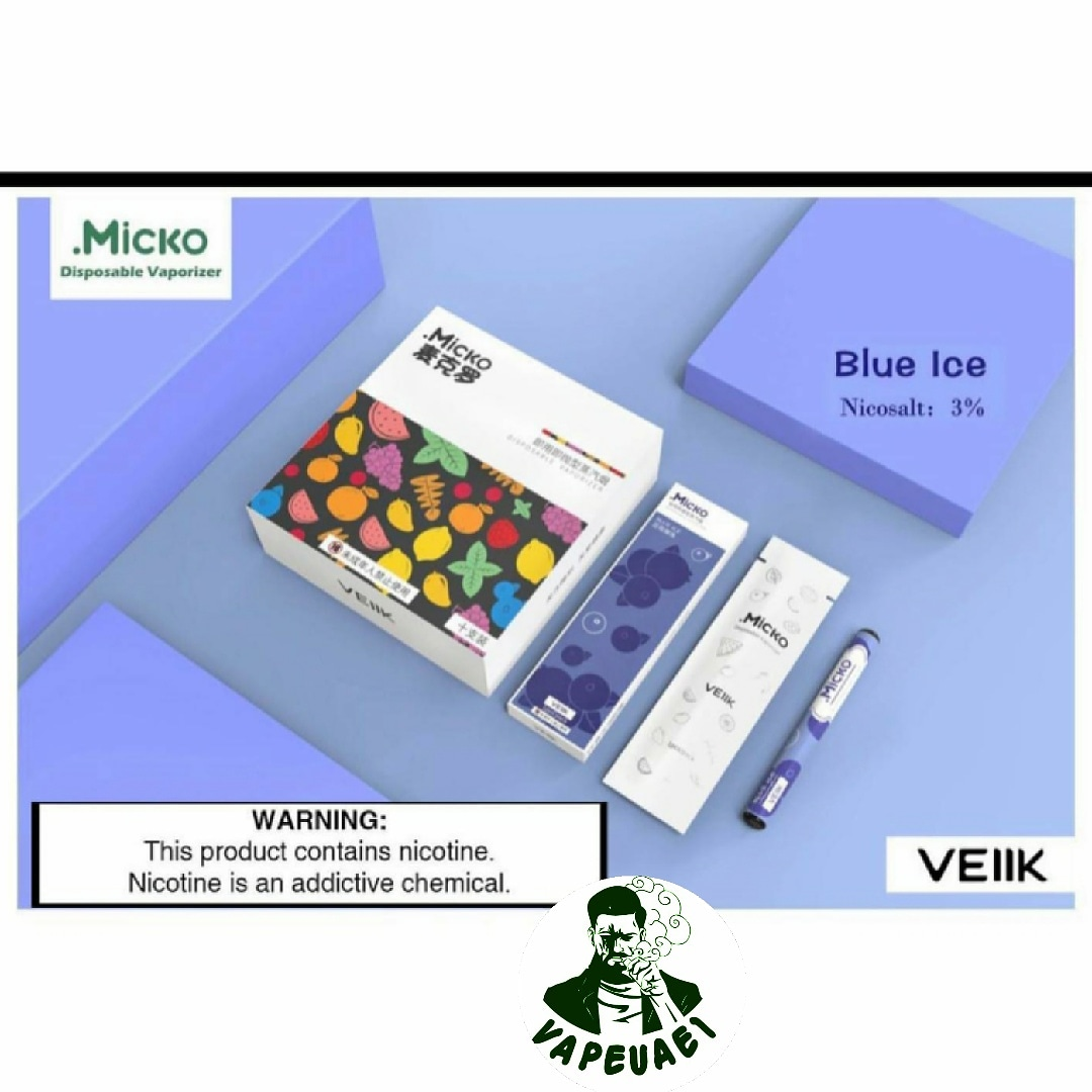 Micko Disposable By Veiik-Blue Ice