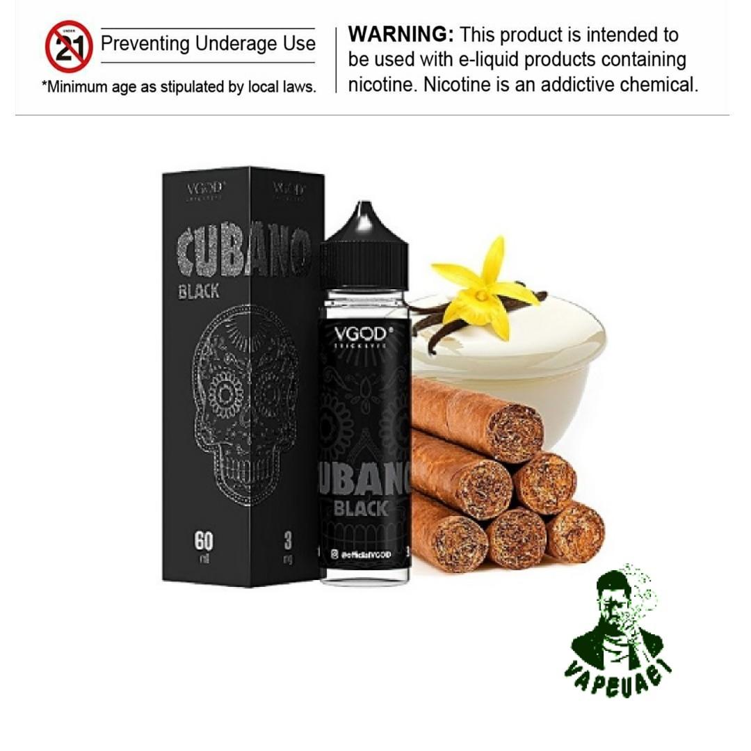cubano black by vgod,