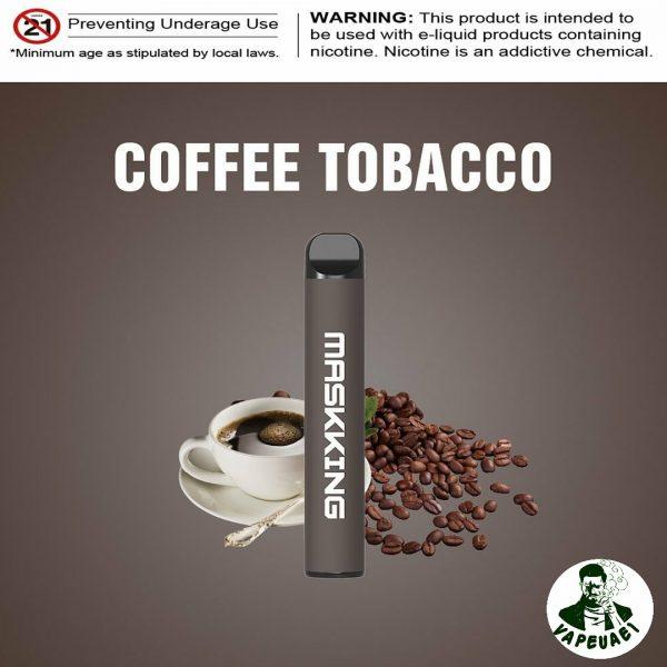 MASKKING COFFEE TOBACCO