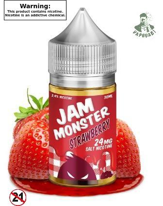 STRAWBERRY JAM MONSTER SALTNIC
