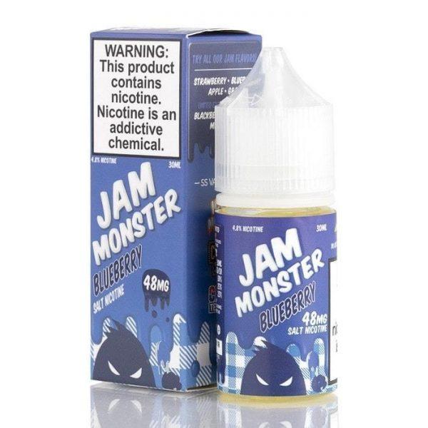 JAM MONSTER SALTS BLUEBERRY
