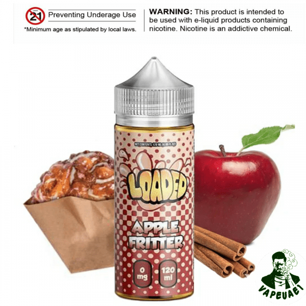 APPLE FRITTER BY LOADED