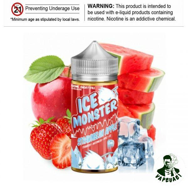 ICE MONSTER STRAWMELON APPLE