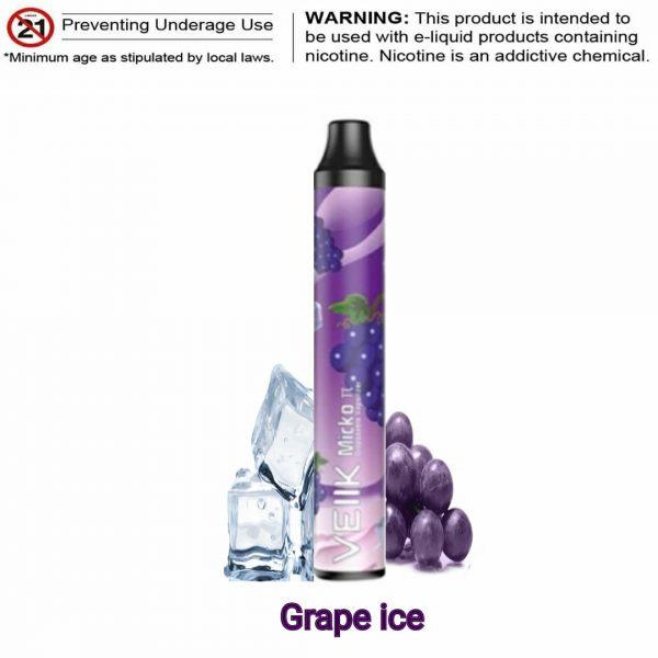 VEIIK MICKO π PIE DISPOSABLE GRAPE ICE