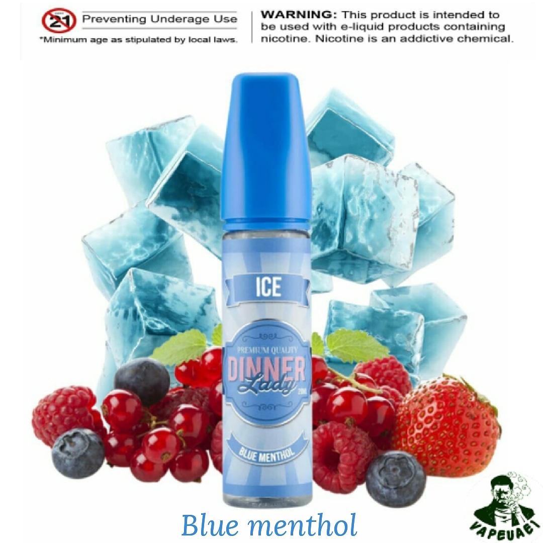 Blue Menthol by Dinner Lady