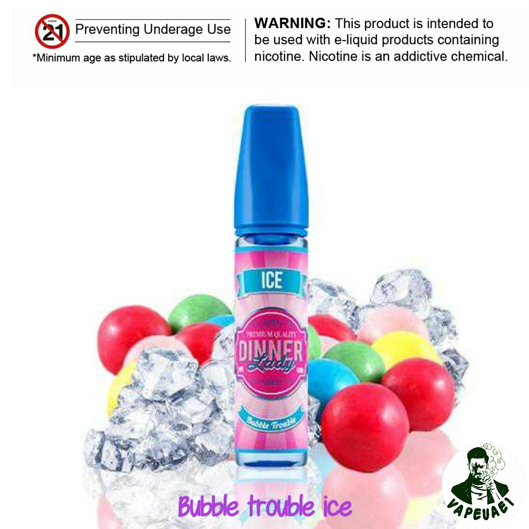 BUBBLE TROUBLE ICE BY DINNER LADY