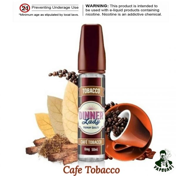 CAFE TOBACCO BY DINNER LADY