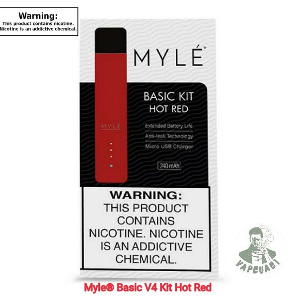Hot Red MYLE Device V4
