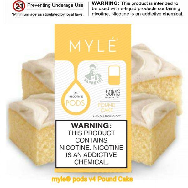 Pound Cake MYLÉ Pod V4