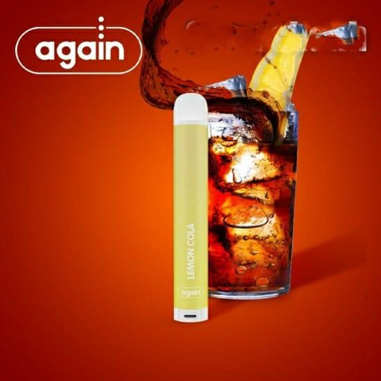 Again Dtl disposable Lemon Cola