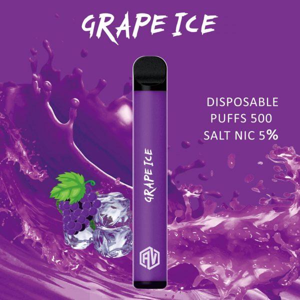 AV Disposable Pod System grape ice
