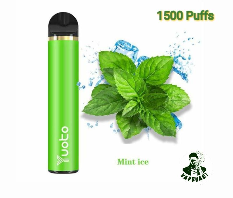 Yuoto 5 Disposable Vape Device 1500 Puffs Mint ice