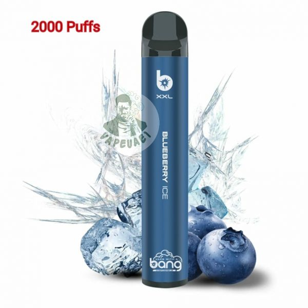 BANG XXL DISPOSABLE BLUEBERRY ICE;