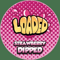 Strawberry Dipped By Loaded Vape Juice logo