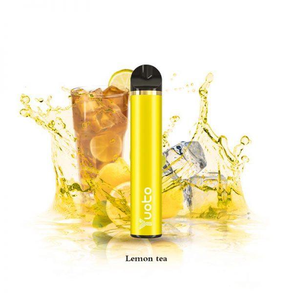 Yuoto Lemon Tea Disposable Device 1500 Puffs