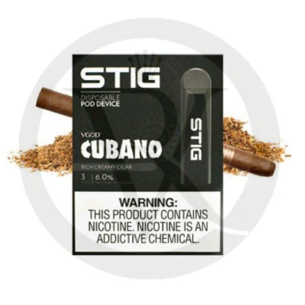 vgod stig disposable cubano