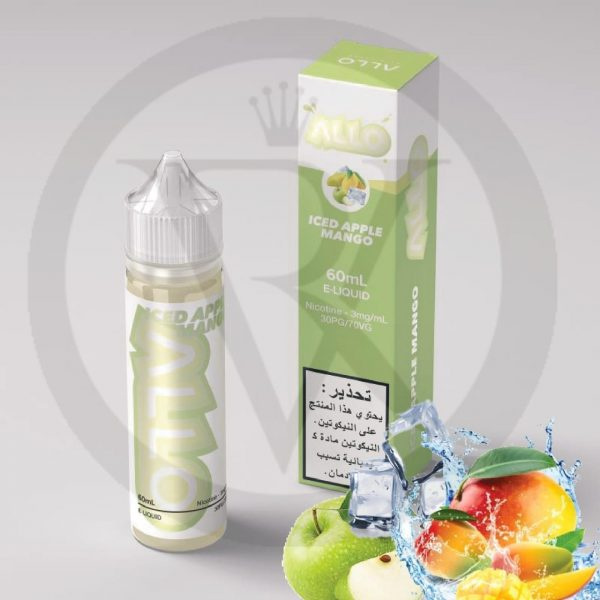 iced apple mango by allo eliquid
