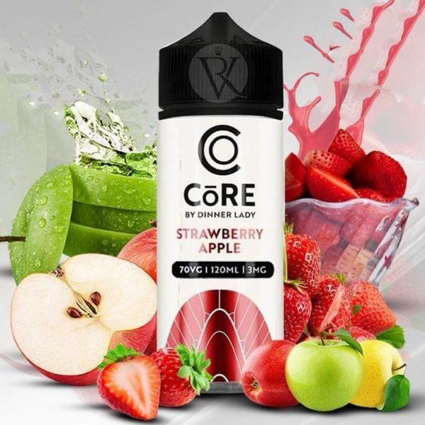 Strawberry Apple Core Dinner lady