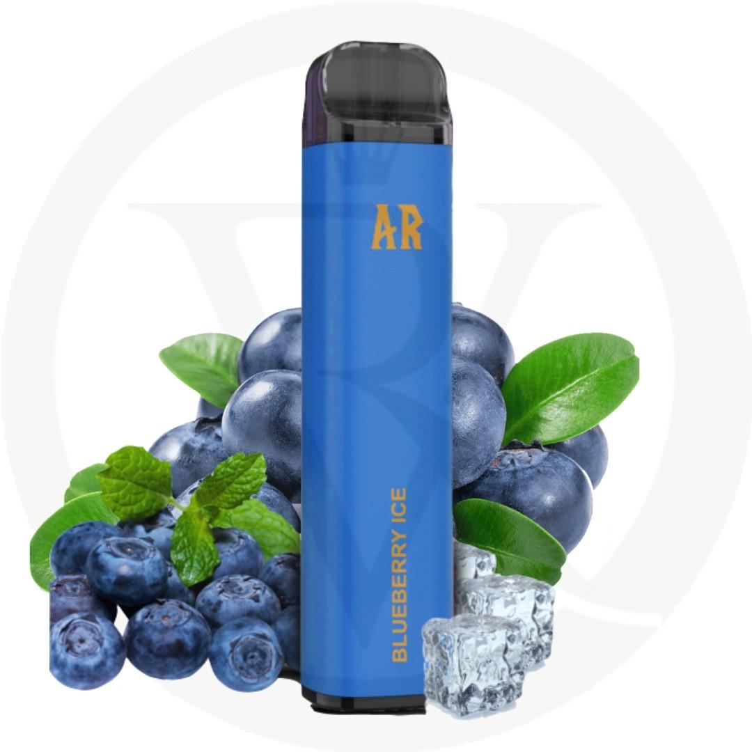 arabisk 1600 puffs blueberry ice