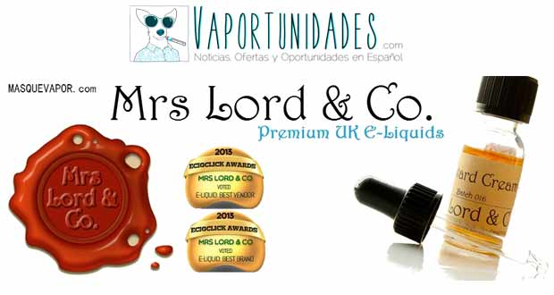 Mrs Lord CO masquevapor