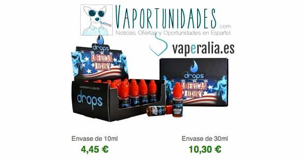 vaperalia liquidos drops