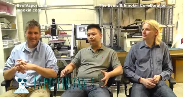 Evolv innokin colaboracion union video phil busardo