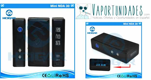 hcigar vaporshark mini dna30 35w