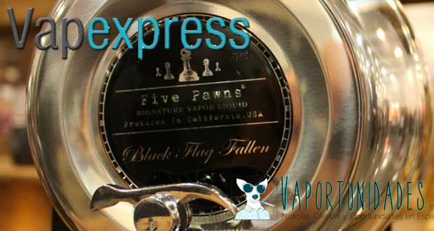 vapexpress five pawns black flag fallen presentacion evento madrid