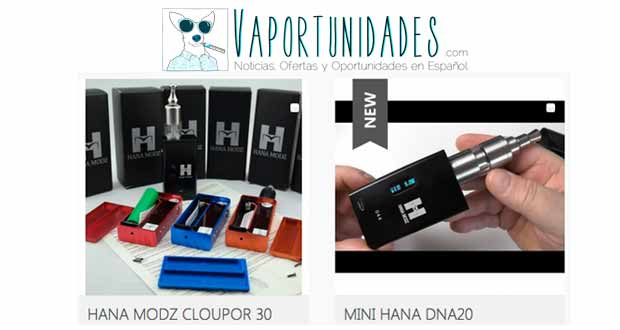vapexpress hana modz cloupor mini 30
