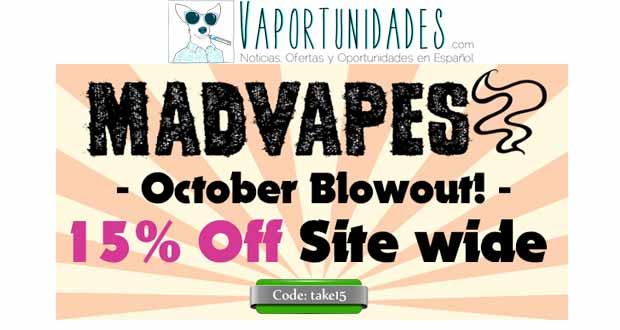 madvapes oferta octubre