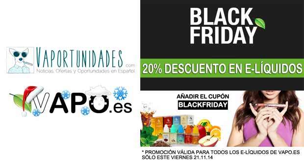 blackfriday vapo.es liquidos