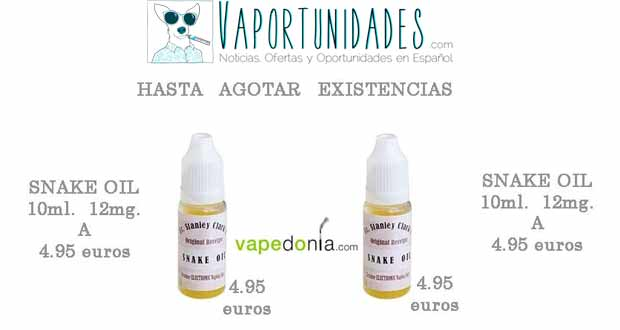 vapedonia snake oil 10ml