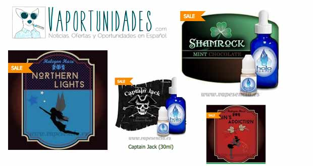vapesencia liquidacion halo halcyon haze gins adiction northern lights