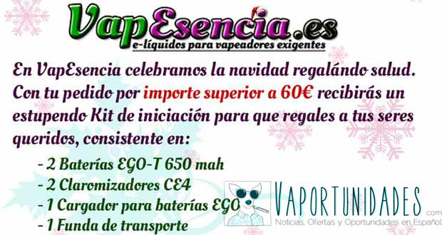 Vapesencia regalo kit ego