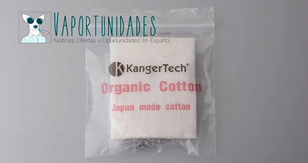 kanger kangertech organic coton resistencias wire algodon