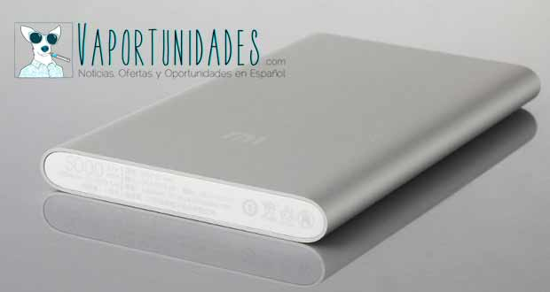 xiaomi 5000 power bank bateria