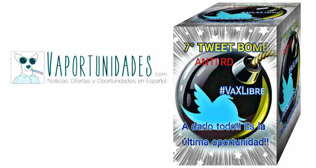 tweet bomb vaxlibre