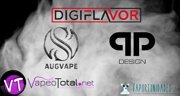 QP Design Digiflavor y Augvape