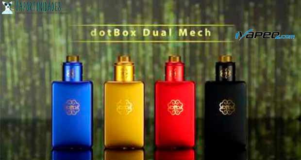 Dotmod - Dual Mech Mod en Ivapeo