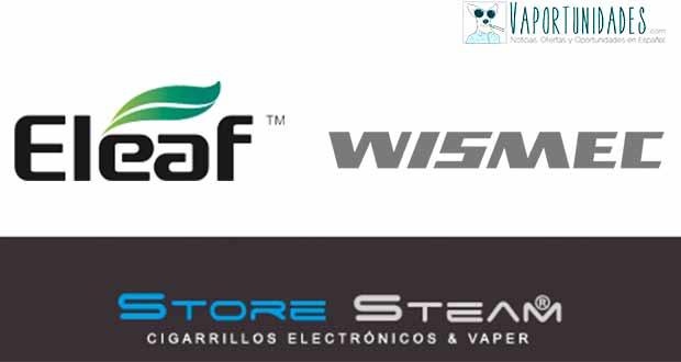 Eleaf y Wismec - Novedades de Store Steam