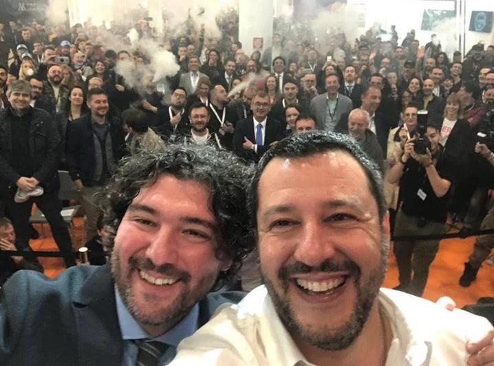 VapItaly's VIP guest: Deputy Prime Minister Matteo Salvini