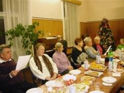 Weihnachtsfeier für die Senioren in den Räumen des Deutschen Forums