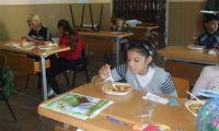 Mittagessen für die Fördergruppe