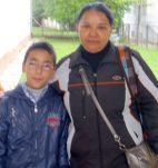 Roberto und seine Mutter