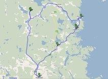 Karta Nordanstig