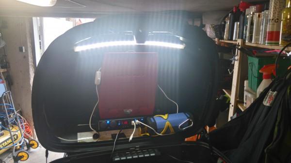 Ny belysning i Topboxen