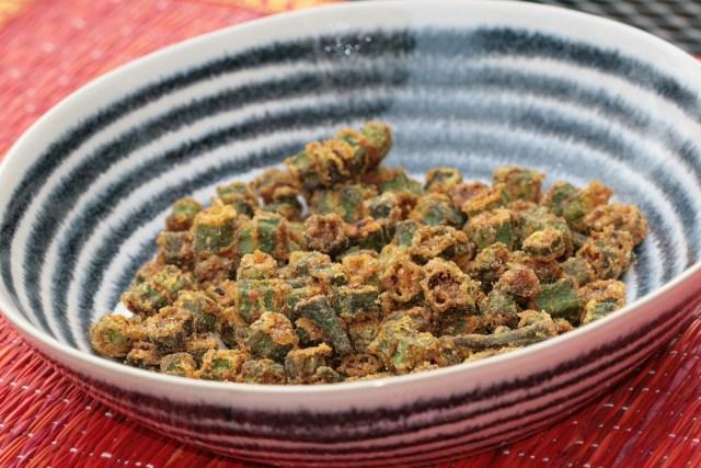 Kurkure bhende (Crispy Okra)