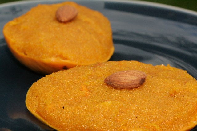Ambe Rava (Mango and semolina)
